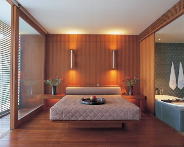 Modern and futuristic japanese bedroom design gallery for Japanese bedroom designs pictures