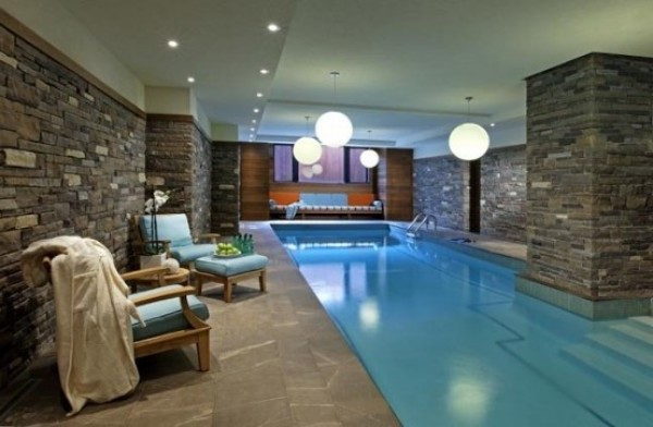 Fantastic swimming pool design type home interior design for Interior pool house designs