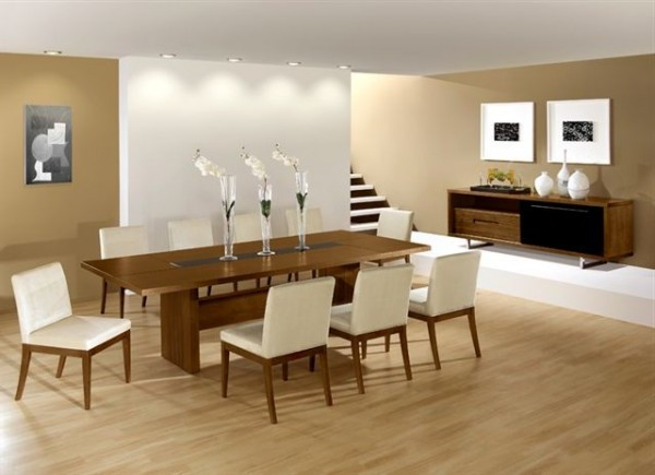Modern and futuristic dining room design decoration home for Contemporary dining room decorating ideas