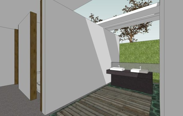 Artistic Clubhouse Design Image