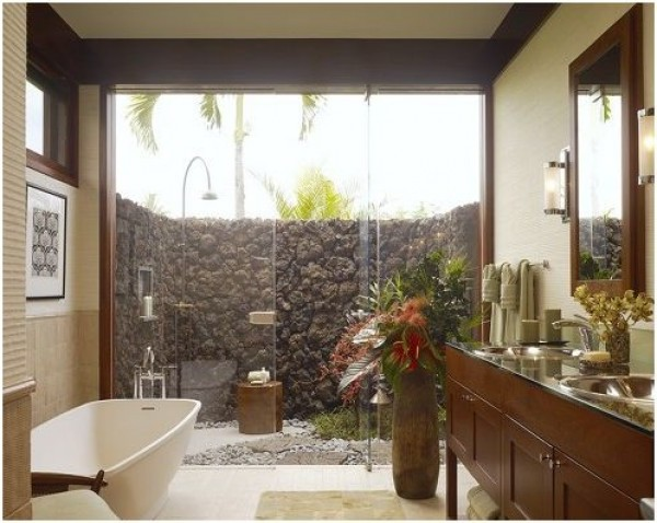 Natural Bathroom Ideas: Amazing Bathroom Design Ideas