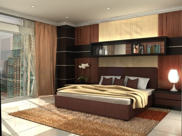 Exceptionnel Futuristic Bedroom Painting Ideas