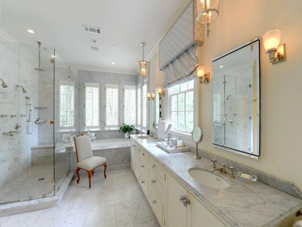 Bathroom design idea archives home interior design ideas for Model home bathroom photos