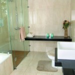 Exciting Green House Bathroom Design Picture