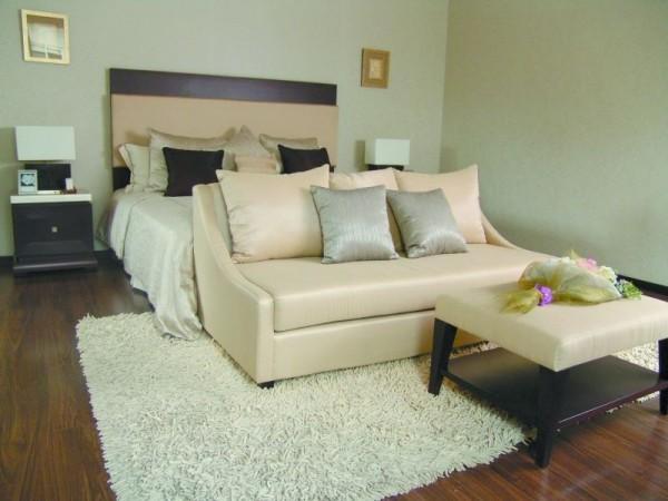 Executive Green Home Bedding Design Model