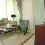 Popular Green House Living Room Design Layout