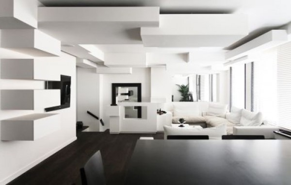 Black and White Interior Decorating