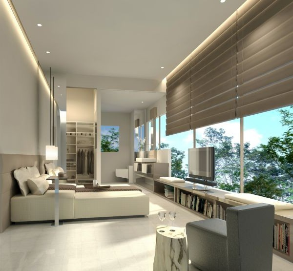 Modern apartment design concept home interior design ideas for Modern architecture concept