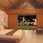Futuristic Resort Villa Bedding Design