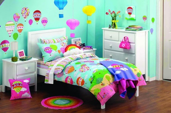 Latest colorful kids bedroom design inspiration home for Colourful childrens bedroom ideas